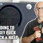 Upgrading To A Hockey Puck PacLock & Hasp | Mr. Locksmith
