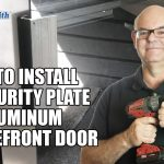 How to Install a security plate